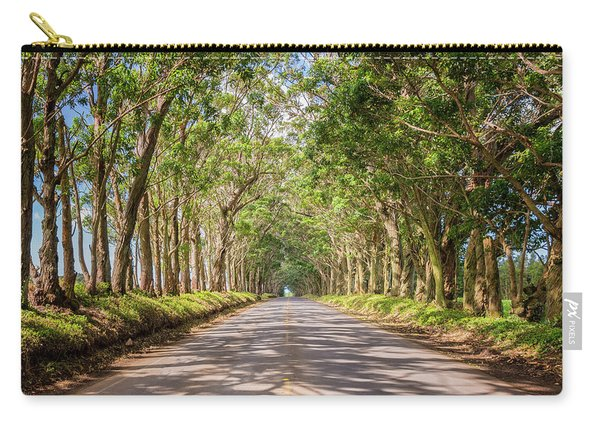 Eucalyptus Tree Tunnel - Kauai Hawaii Carry-all Pouch