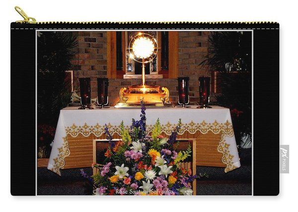 Eucharist I Am The Bread Of Life Carry-all Pouch