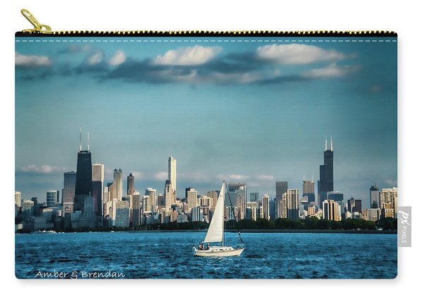 Evan's Chicago Skyline  Carry-all Pouch