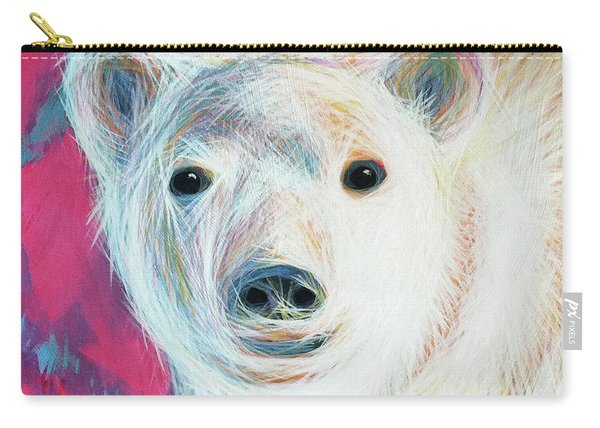 Even Polar Bears Love Pink Carry-all Pouch