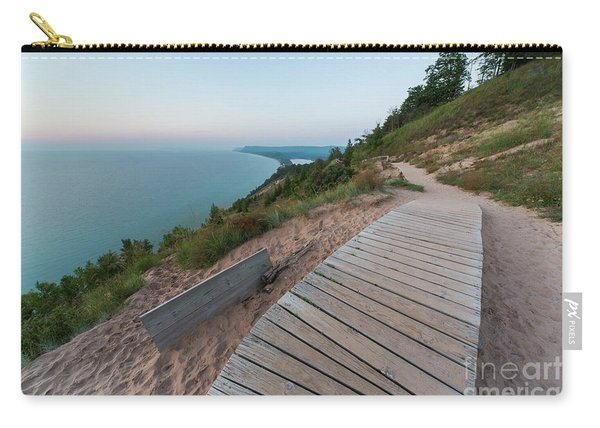 Evening At Ampire Bluff Carry-all Pouch