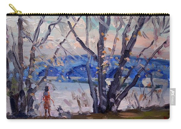 Evening At Great Island Bridge Carry-all Pouch