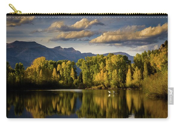 Evening At Indian Springs Carry-all Pouch