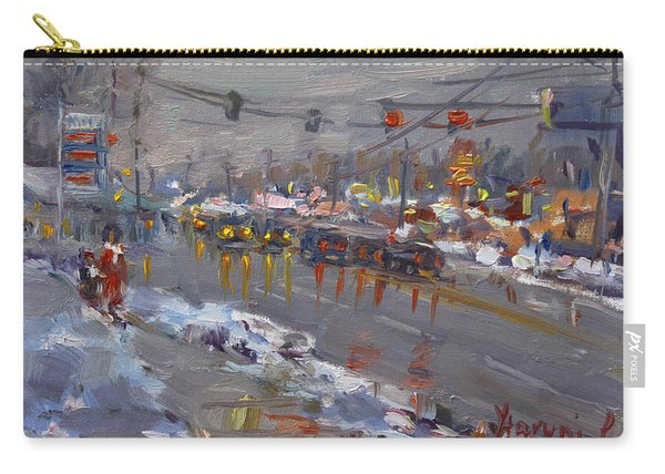 Evening At Niagara Falls Blvd Carry-all Pouch