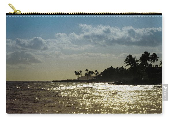 Evening At Poipiu Kauai Carry-all Pouch