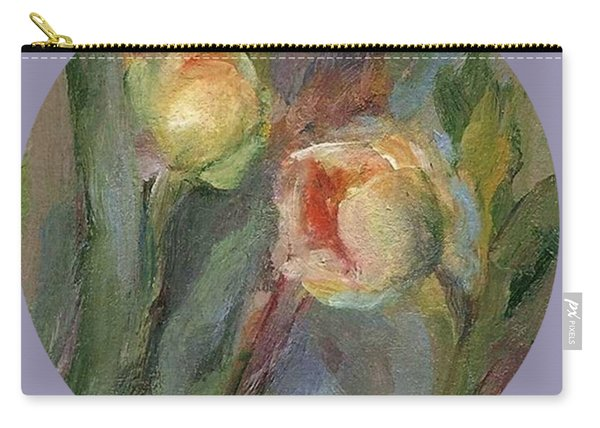 Evening Bloom Carry-all Pouch