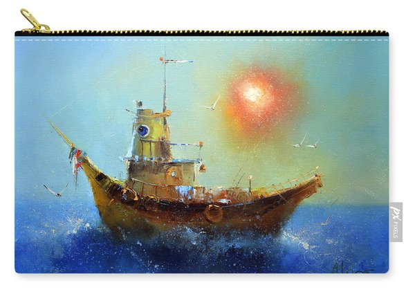 Evening Boat Carry-all Pouch