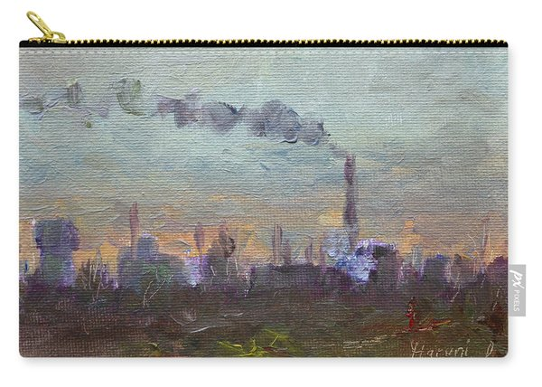 Evening By Industrial Site Carry-all Pouch