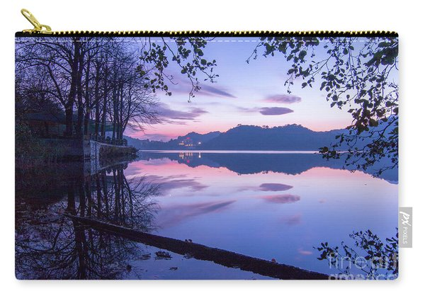 Evening By The Lake Carry-all Pouch