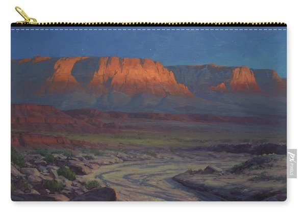 Evening Comes To Marble Canyon Carry-all Pouch
