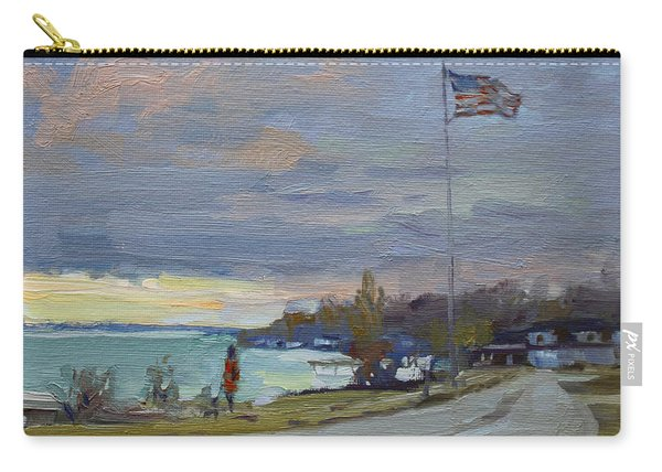 Evening In Gratwick Waterfront Park Carry-all Pouch
