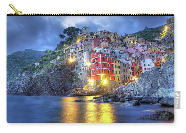 Evening In Riomaggiore Carry-all Pouch