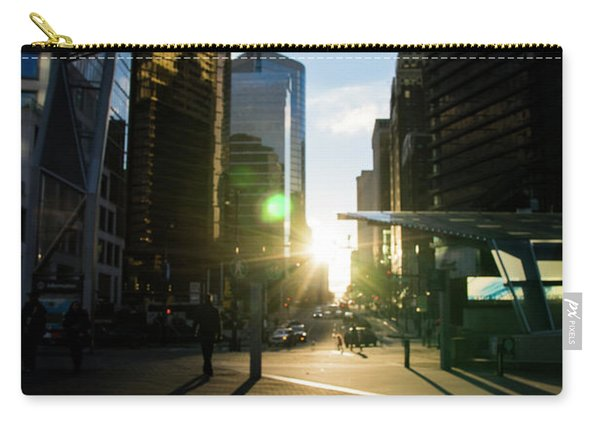 Evening In The City Carry-all Pouch