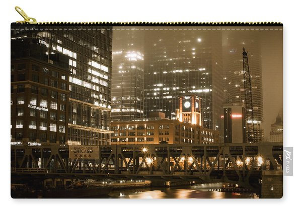 Evening In The Windy City Carry-all Pouch