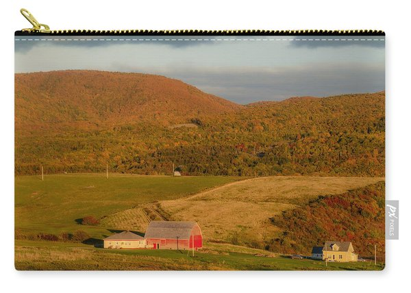 Evening Is Coming To Cheticamp II Carry-all Pouch
