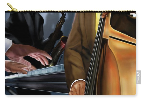Evening Jazz Crowd Pleaser Carry-all Pouch