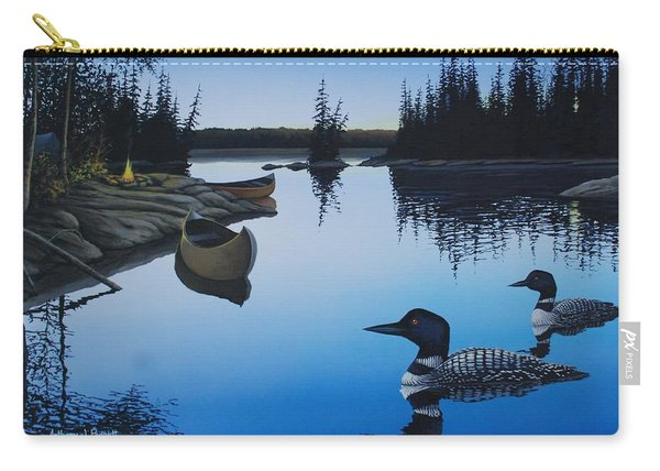 Evening Loons Carry-all Pouch