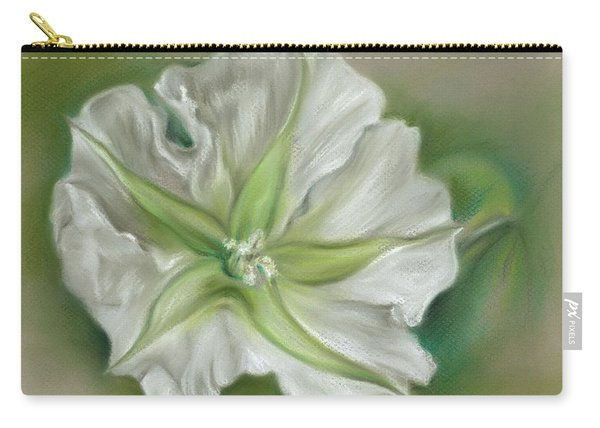 Evening Moonflower Carry-all Pouch