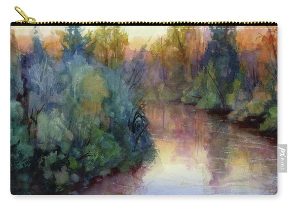 Evening On The Willamette Carry-all Pouch