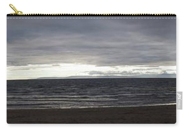 Evening Panoramic Ayr Beach, Scotland Carry-all Pouch
