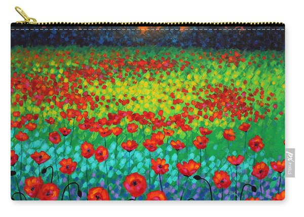 Evening Poppies Carry-all Pouch