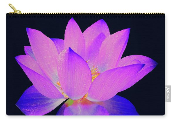 Evening Purple Lotus  Carry-all Pouch