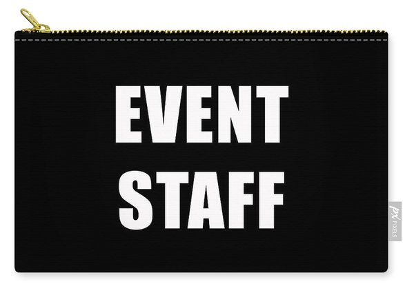 Event Staff Tee Carry-all Pouch