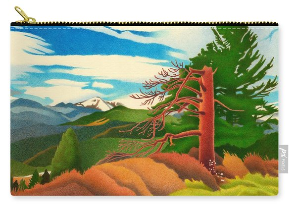 Evergreen Overlook Carry-all Pouch