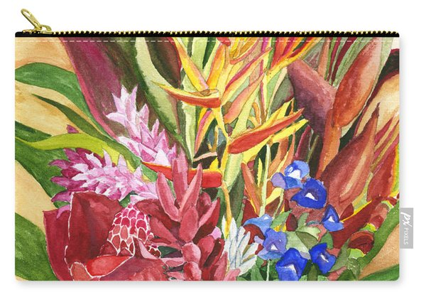Everywhere There Were Flowers Carry-all Pouch