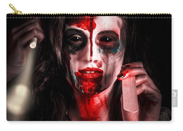 Evil Dead Dentist Performing Oral Examination Carry-all Pouch