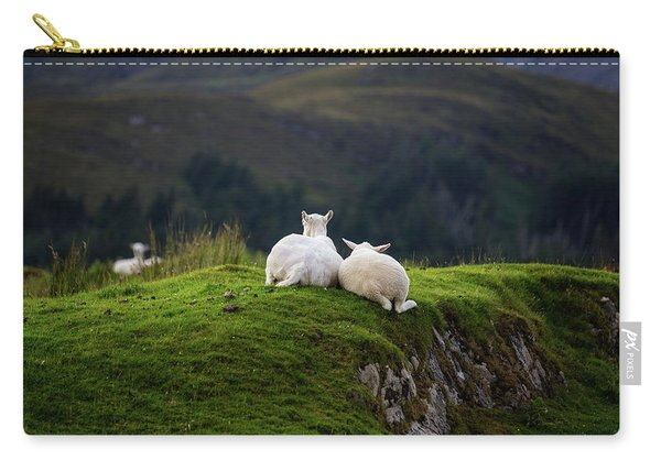 Ewe And Me Carry-all Pouch
