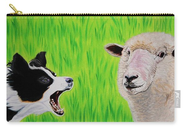 Ewe Talk'in To Me? Carry-all Pouch