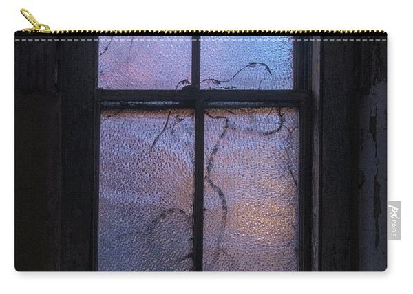 Carry-all Pouch featuring the photograph Exam Room Window by Tom Singleton