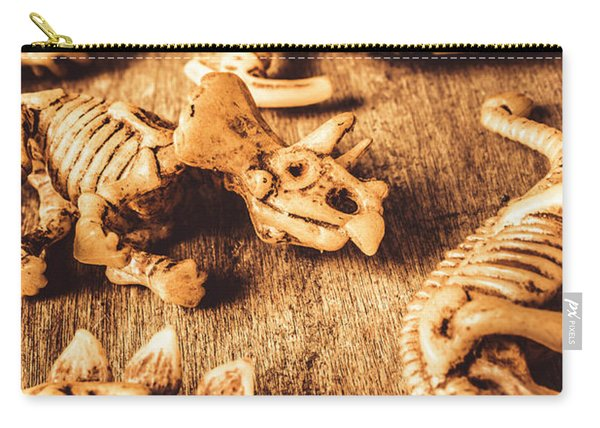 Exhibition In Prehistoric Art Carry-all Pouch