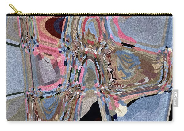Carry-all Pouch featuring the digital art Exit by Eleni Mac Synodinos