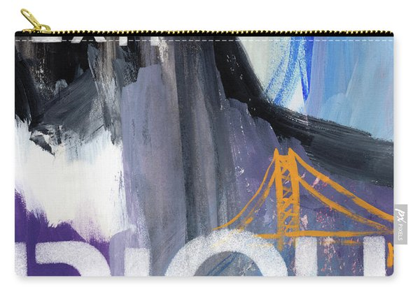 Exit Right- Art By Linda Woods Carry-all Pouch