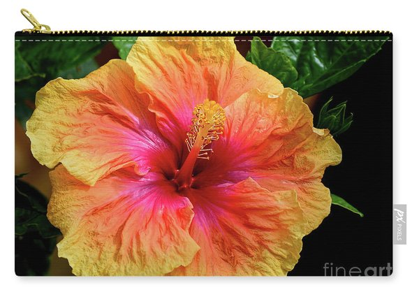 Exotic Hibiscus Flower By Kaye Menner Carry-all Pouch