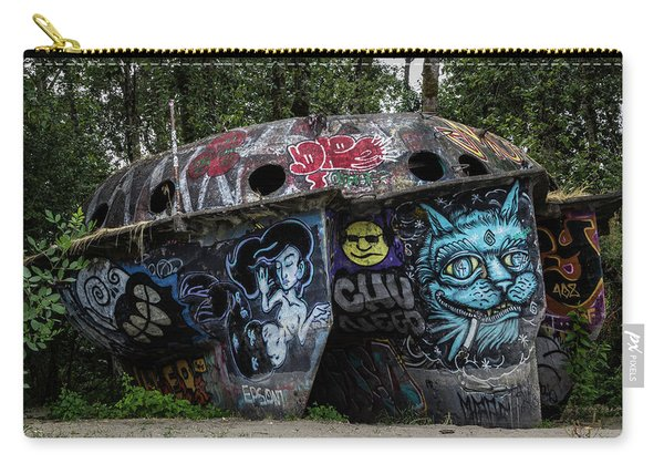 Experimental Graffiti Carry-all Pouch