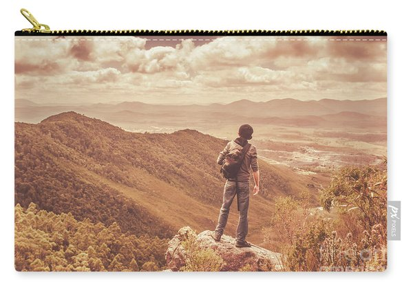 Exploring The Rugged West Coast Of Tasmania Carry-all Pouch