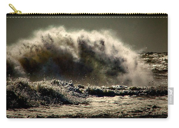 Explosion In The Ocean Carry-all Pouch