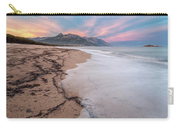 Explosion Of Colors On The Beach Carry-all Pouch