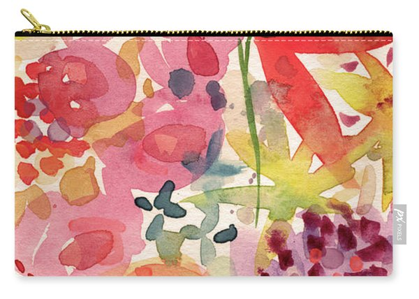 Expressionist Fall Garden- Art By Linda Woods Carry-all Pouch