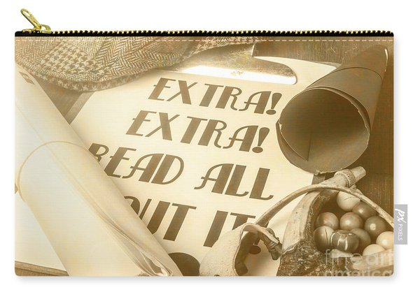 Extra Extra Read All About It Carry-all Pouch