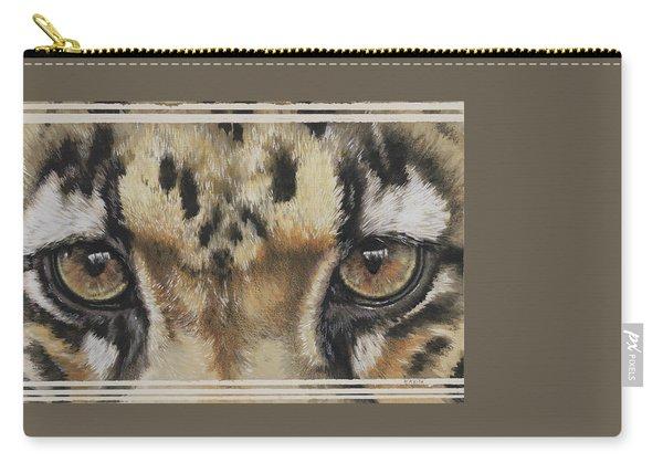 Clouded Leopard Gaze Carry-all Pouch