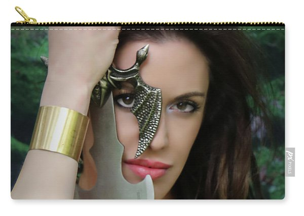 Eye Of A Warrior Carry-all Pouch