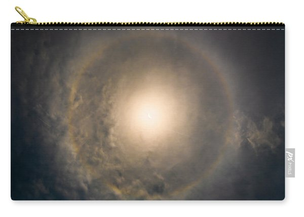 Eye Of The Eclipse Carry-all Pouch