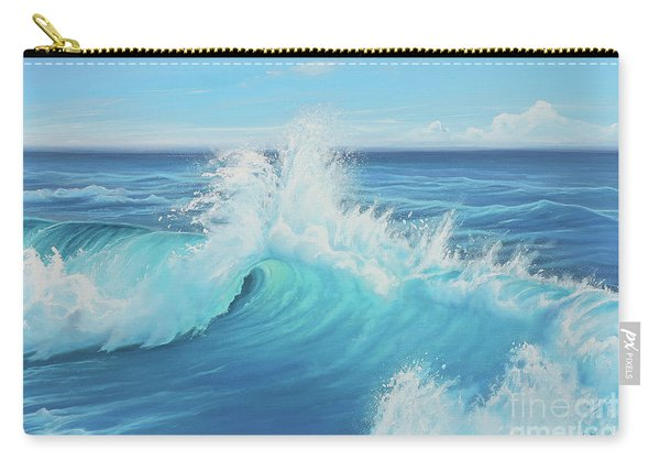 Eye Of The Ocean Carry-all Pouch
