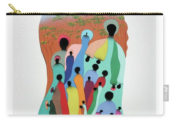 Eye Of The Spirit Carry-all Pouch