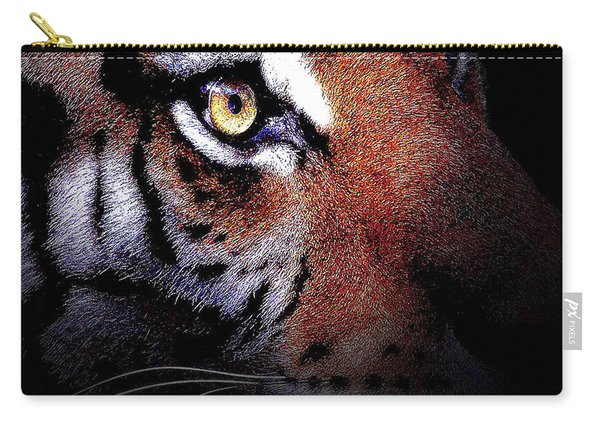 Eye Of The Tiger Carry-all Pouch