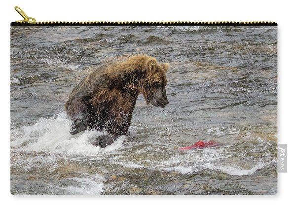 Eye On The Sockeye Carry-all Pouch